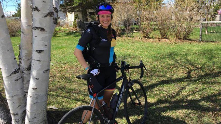 Le tour du Québec à vélo de Jessica Bélisle