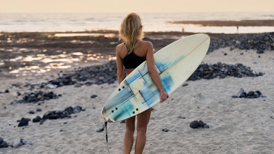 Virginia Beach : surf et bikini