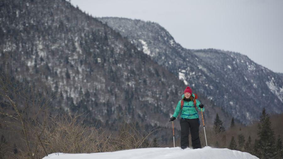 Ski hors-piste : Parc de la Jacques-Cartier