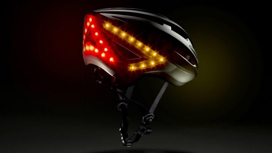 Un casque de vélo brillant !