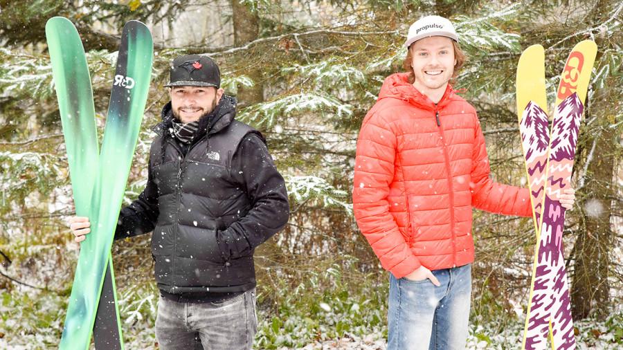 Une nouvelle marque de skis faits au Québec