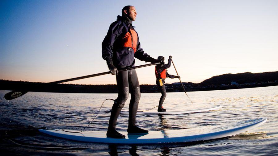 « Stand Up Paddle » : Danser sur l'eau