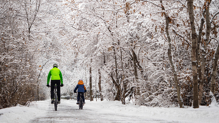 Vélo : 5 idées pour être actif et garder le moral cet hiver