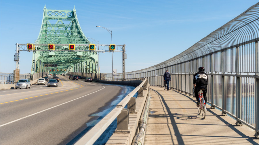 Le pont Jacques-Cartier bientôt rouvert aux cyclistes
