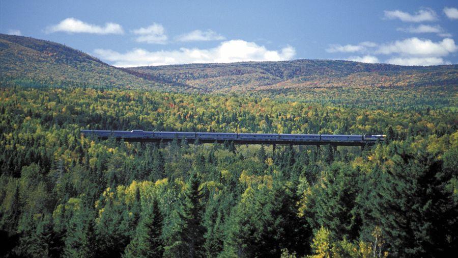 Visitez le Québec en train cet été