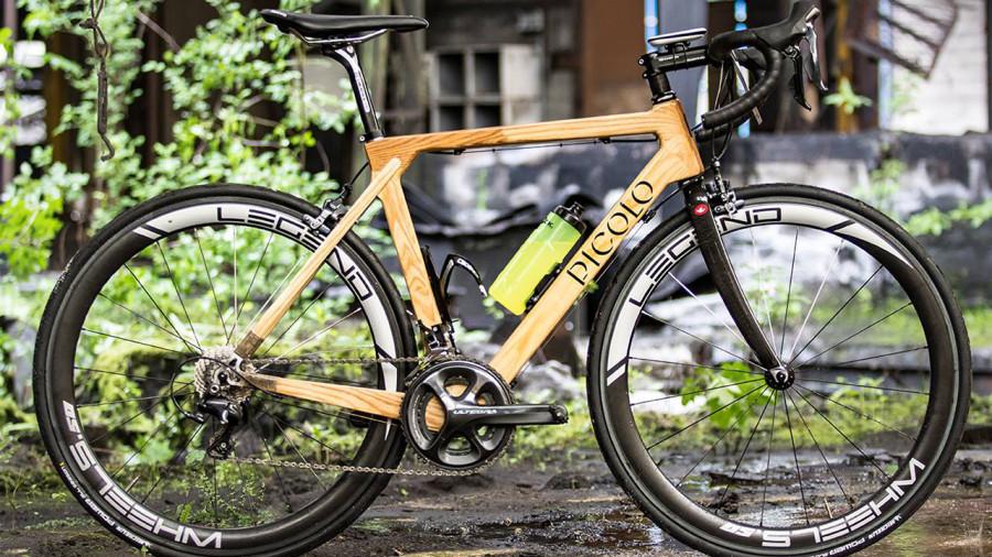 Picolo : un vélo de route en bois fait au Québec