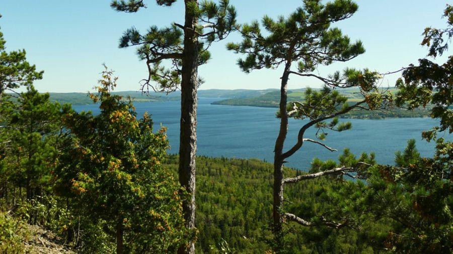 Parc national du Lac Témiscouata : Canot-camping