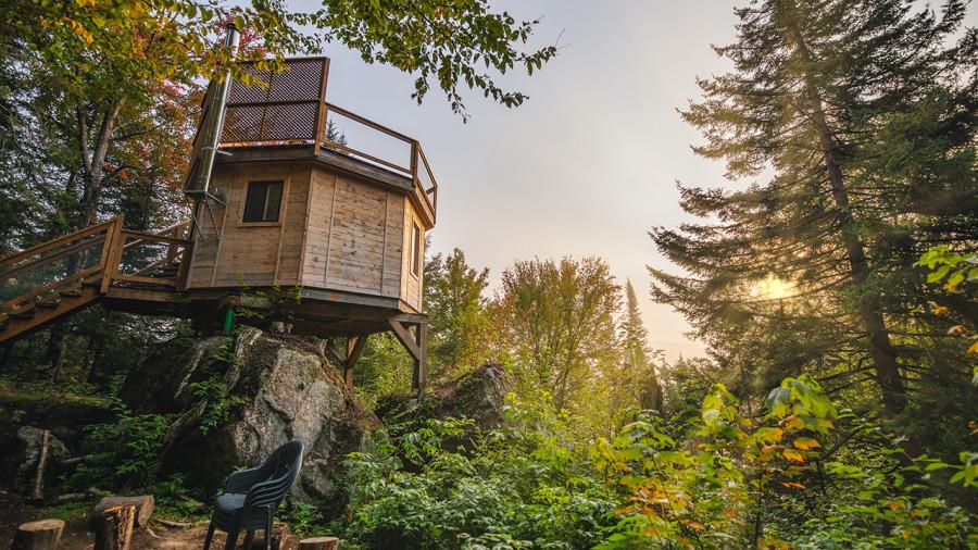 10 nouveaux refuges dans les arbres à Mont-Tremblant