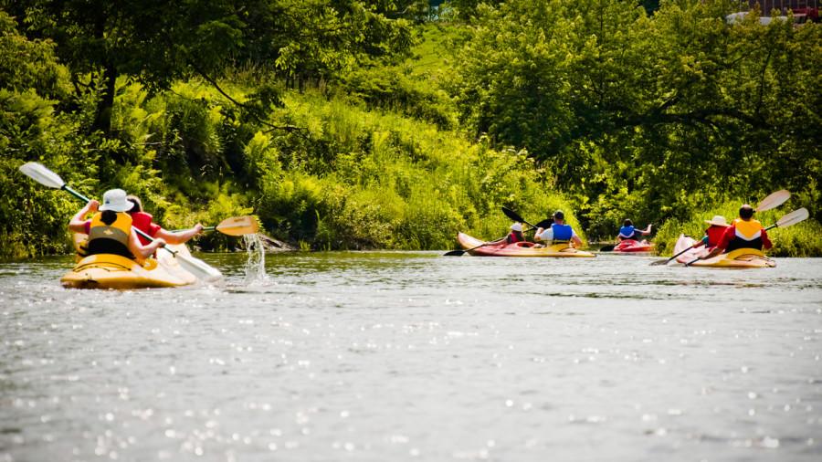 Cantons-de-l'Est : Glisser en douceur sur la rivière Missisquoi