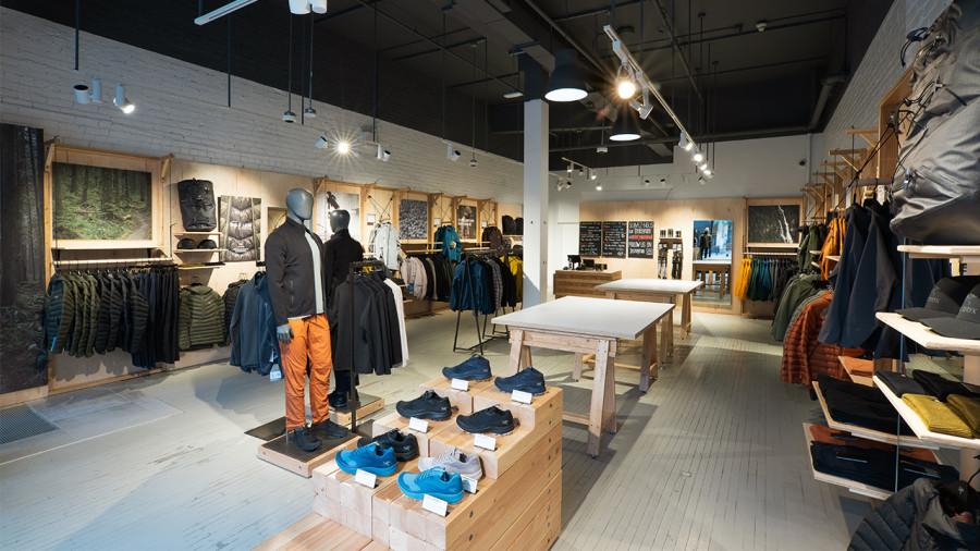 Une nouvelle boutique Arc'teryx ouvre à Montréal avec un nouveau concept