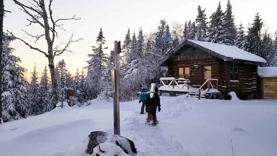 Partir en rando-refuge hivernale avec vos enfants? Pas si compliqué!