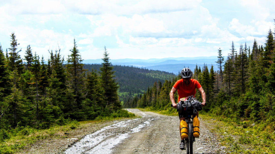 La traversée de la Gaspésie en bikepacking
