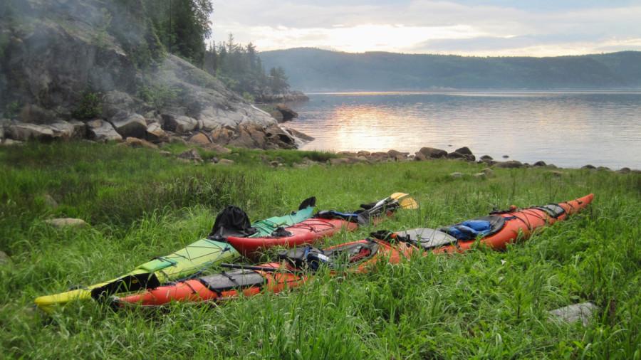Kayak de mer : de baies en îles