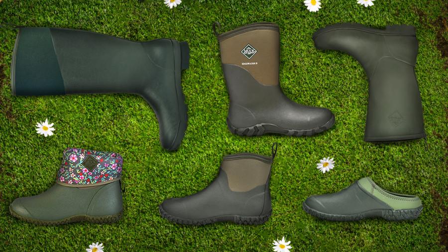 Les bottes de pluie parfaites pour le plein air