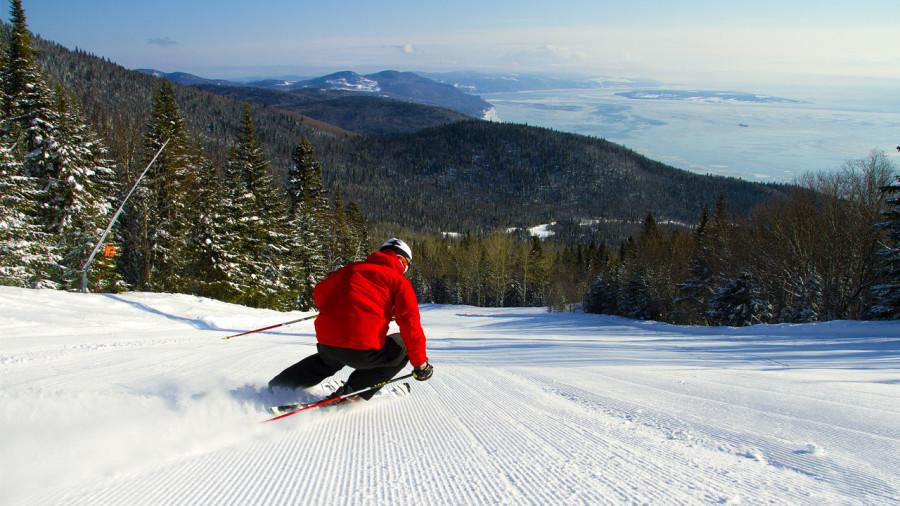 Les 10 pistes de ski avec les plus belles vues au Québec