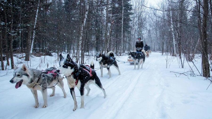 48 heures actives dans le Centre-du-Québec... en hiver !