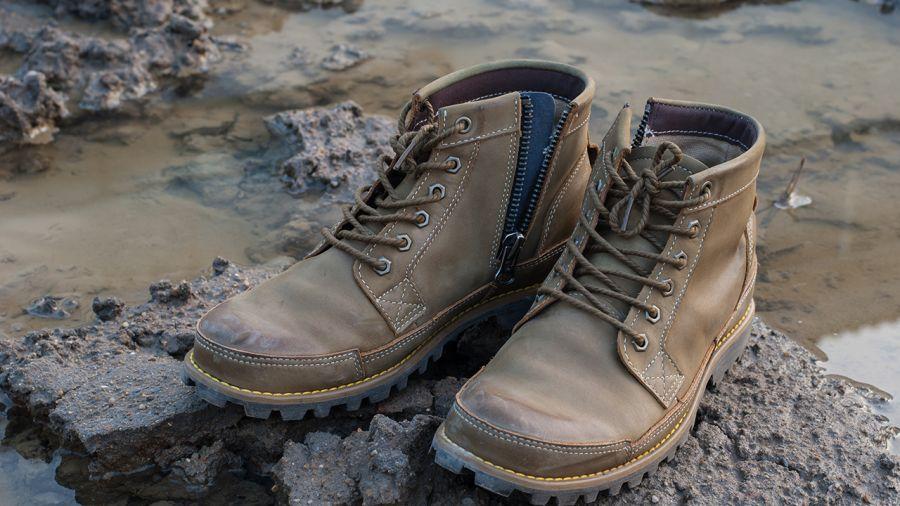 L'histoire de la chaussure de plein air