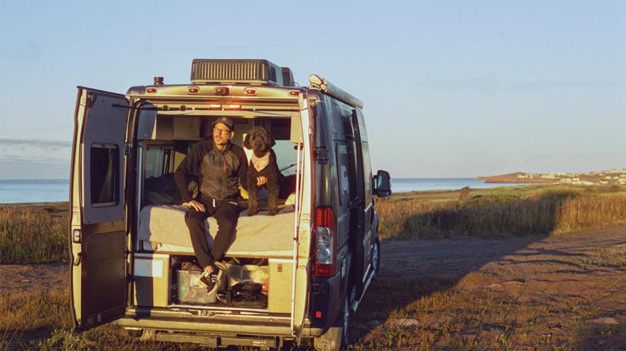 Dominic Arpin de Van aventure : ses 10 sites préférés pour la vanlife au Québec