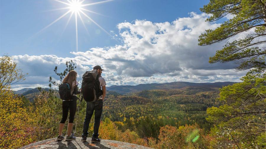 Les parcs régionaux du Québec de plus en plus populaires