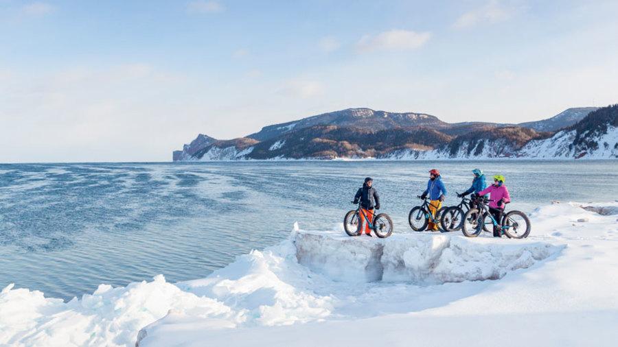 10 incontournables de l'hiver gaspésien