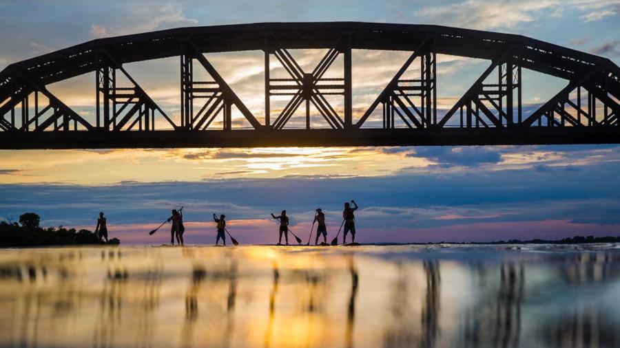 SUP et kayak : où aller pour pagayer en ville ?