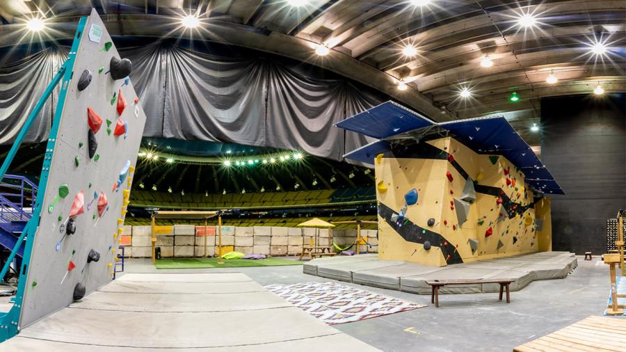 Un nouveau centre d'escalade de bloc au Stade Olympique