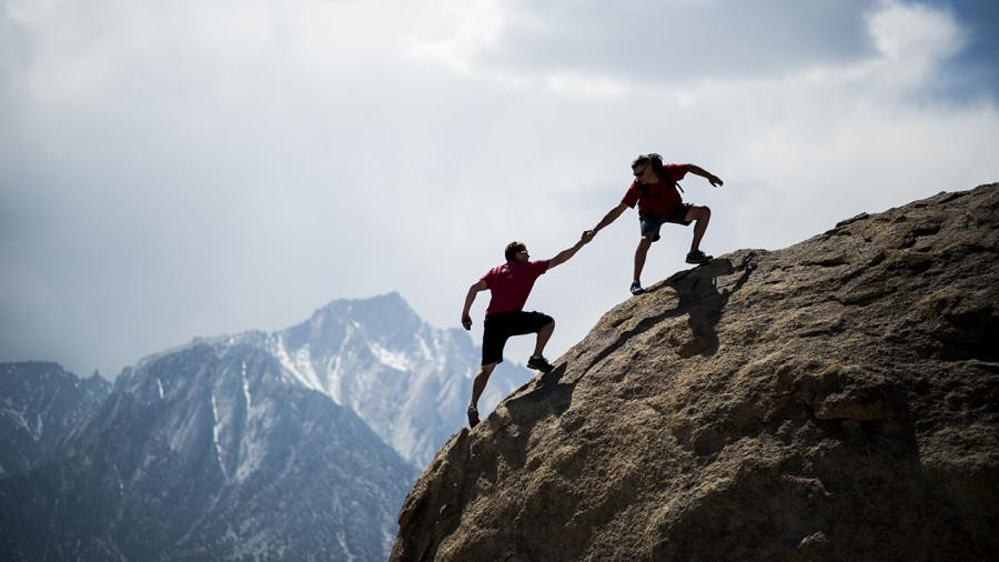 Randonner jusqu'au sommet: une introduction au « scrambling »