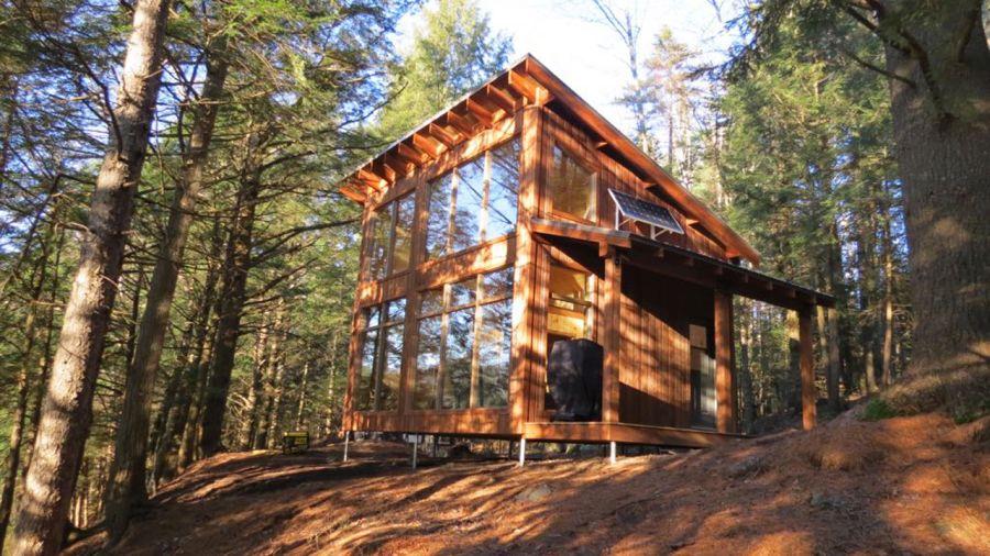 Les Côteaux Missisquoi : nichoir avec vue