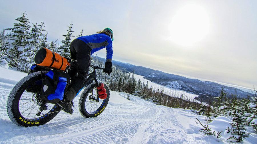 Fatbike : Au cœur de l'hiver en bikepacking