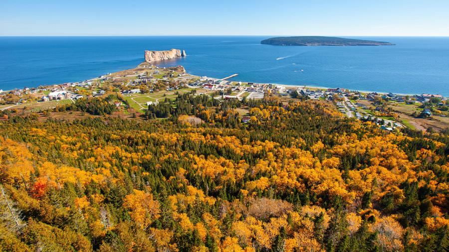 Trois destinations pour découvrir la Gaspésie en automne