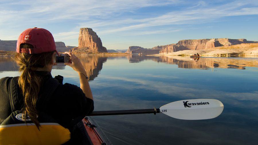 Kayak aux États-Unis : la démesure artificielle
