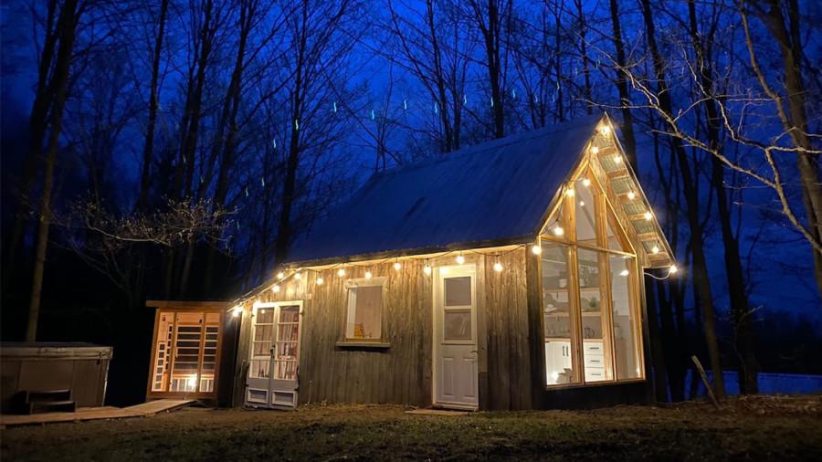 Une cabane chic, confortable et parfaite pour profiter de la nature