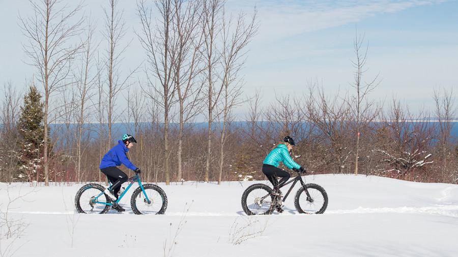 Vélo : le Centre national de cyclisme de Bromont lance un défi hivernal