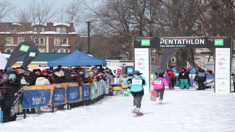 Un hiver actif : Pentathlon des neiges