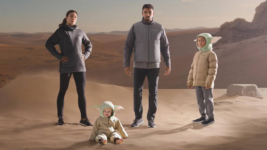 Columbia : des vêtements inspirés par la série Star Wars « The Mandalorian »