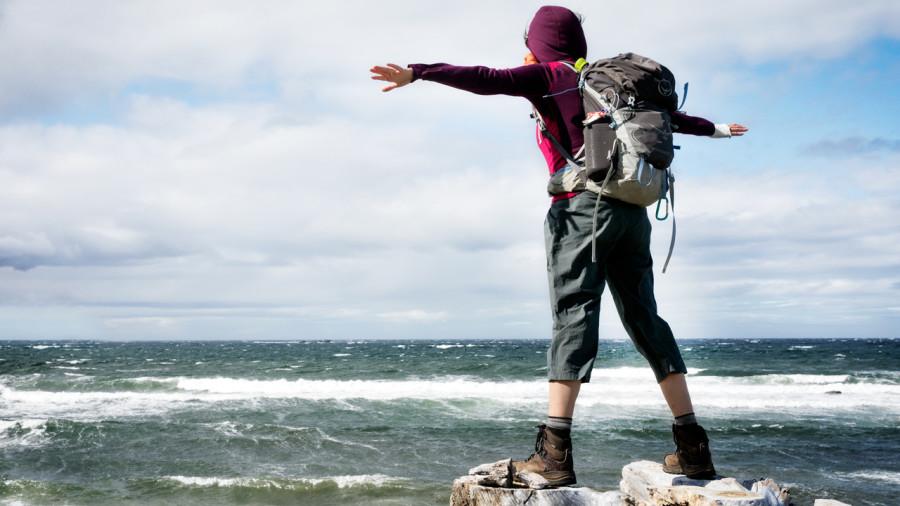 Traversée de la Gaspésie à bottine : randonnée démesurée