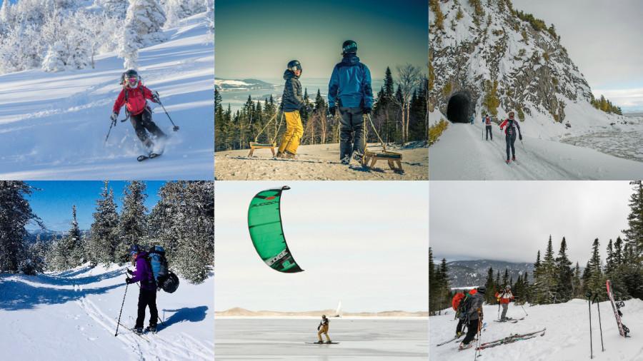 6 expériences de glisse à vivre une fois dans sa vie au Québec