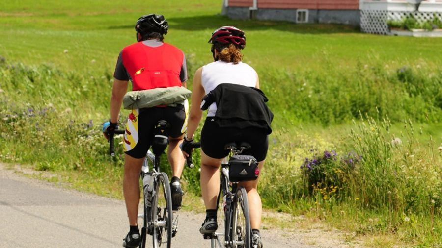 Vélo de route : L'île du Havre-aux-Maisons (Îles de la Madeleine)