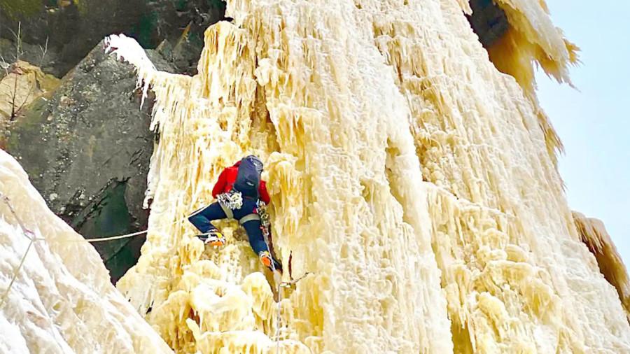 L'alpiniste François-Guy Thivierge réalise un rêve... dans «l'Everest du Québec»