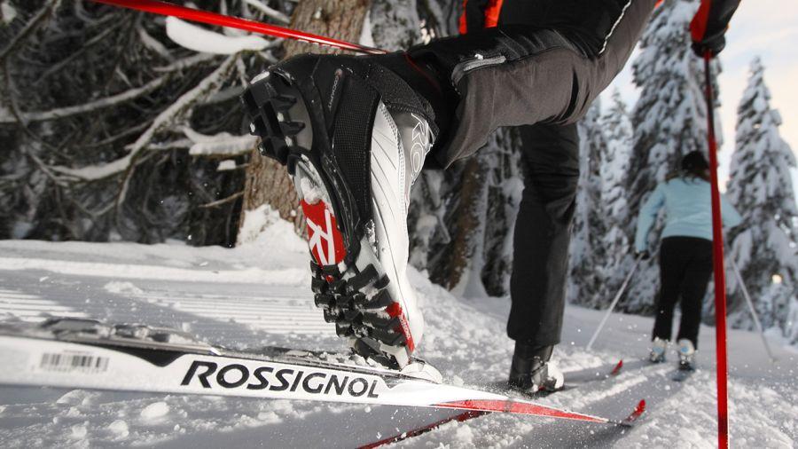 Où tu vas avec tes skis?
