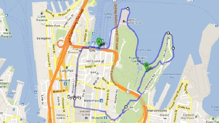 Courir au large : Sydney, Australie