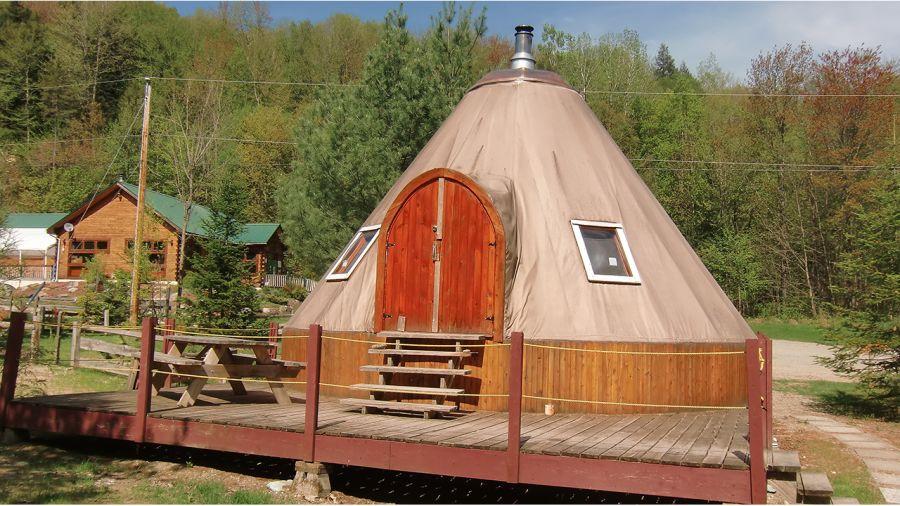 Cantons-de-l'Est | Les Wi-tentes du Mont Élan