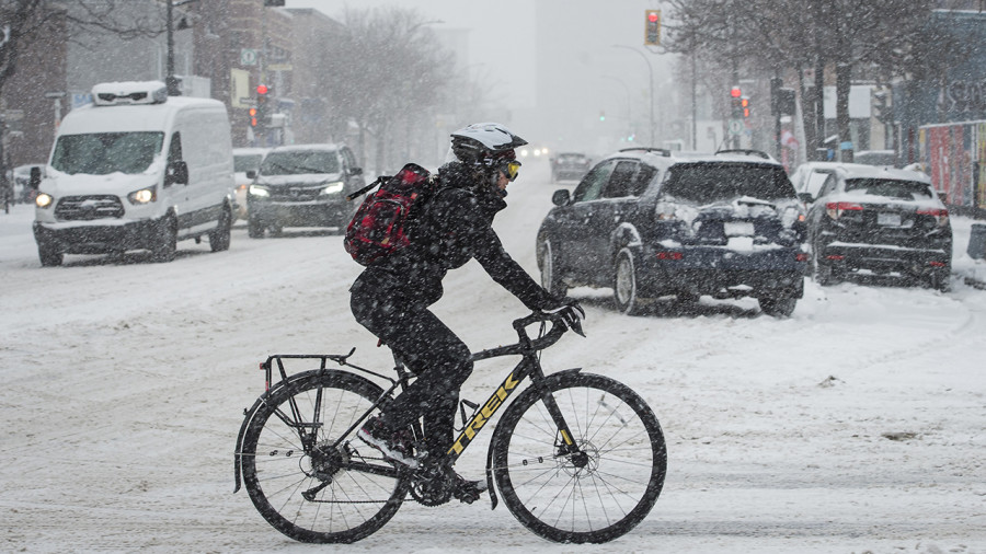 Tempête de neige au Québec: une fin de semaine sous la neige