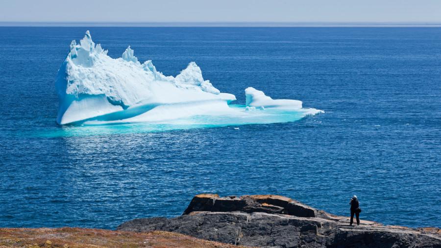 Randonnées aux icebergs à Terre-Neuve