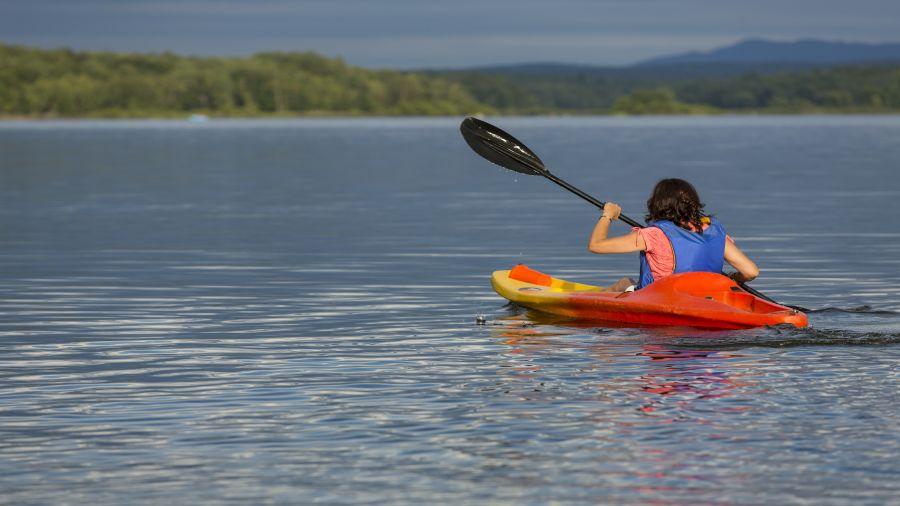 Canot et kayak au parc national de la Yamaska