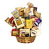 Gourmet Delight Gift Basket