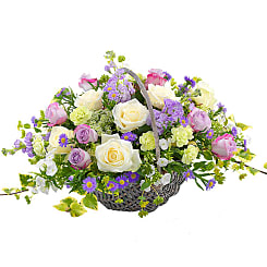 Country Garden Basket - Flowers