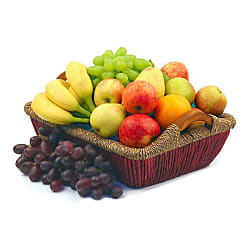 Fruit Hamper III - Flowers