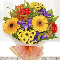 Vibrant Birthday Bouquet - Flowers