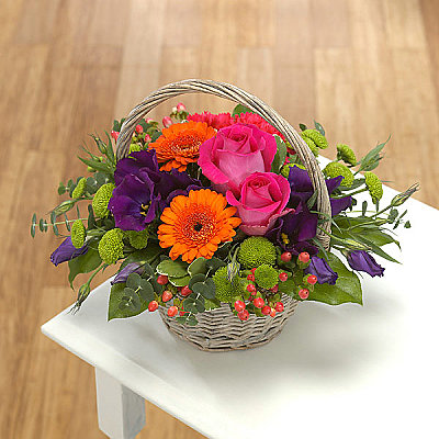 Basket Arrangement - Flowers